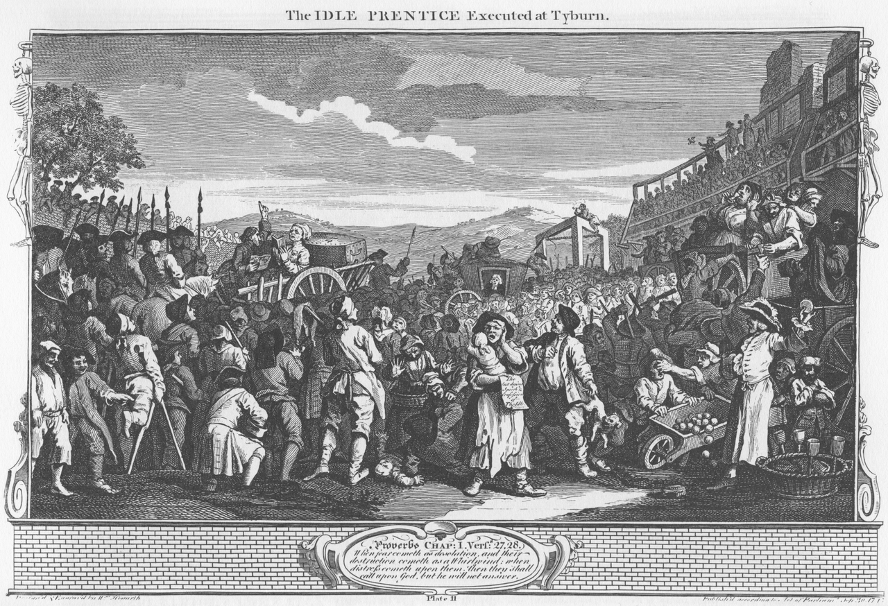 Hogarth Industry and Idleness